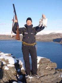 Fjellrypejakt i Finnmark