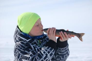 Isfisker Roar i sitt ess